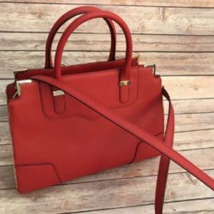 Rebecca Minkoff Red Leather Purse Crossbody